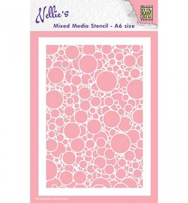 Bubbles, Schablone - Nellie's Choice