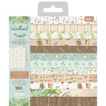 Woodland Friends 6x6 Paperpad - Crafter's Companion