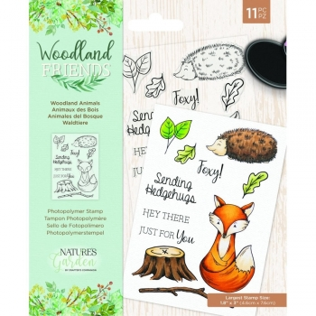 Woodland Friends, Woodland Animals, Clearstamp - Crafter's Companion