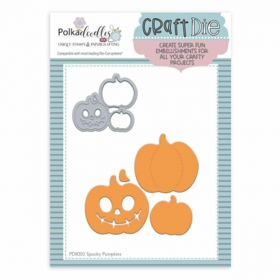 Spooky Pumpkins, Stanze - Polkadoodles