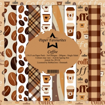 Coffee 6x6 Paperpack - Paper Favourites