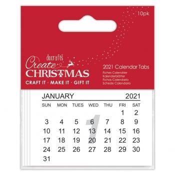 Kalender Tabs 2021 - Papermania