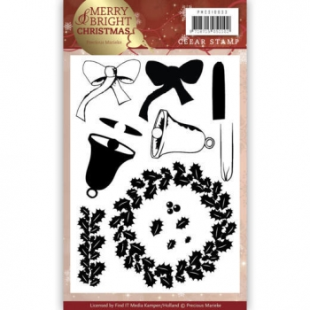 Wreath, Clearstamp - Find It Trading