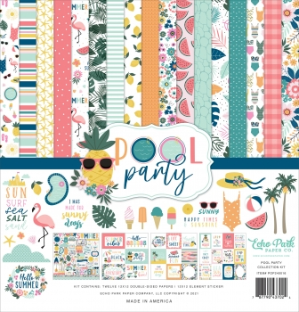 Pool Party 12x12 Inch Collection Kit - Echo Park