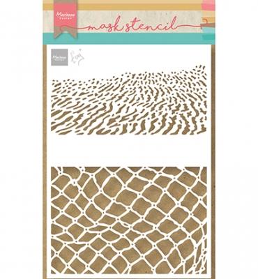 Tiny's Beach, Schablone - Marianne Design