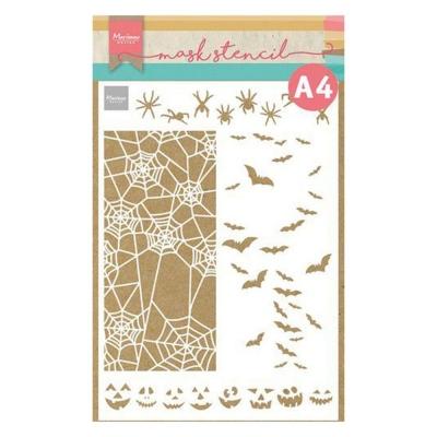 Slimline Halloween, Schablone - Marianne Design
