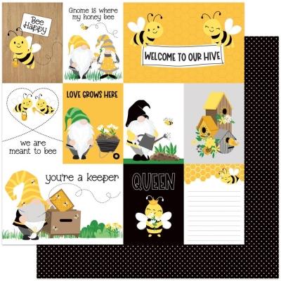 Tulla & Norbert's Sweet as Honey, You're A Keeper, Designpapier - Photoplay