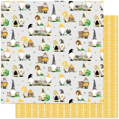 Tulla & Norbert's Sweet as Honey, Bee Keeper, Designpapier - Photoplay