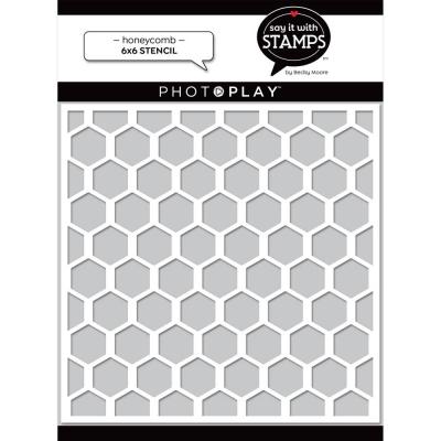 Honeycomb, Schablone - Photoplay