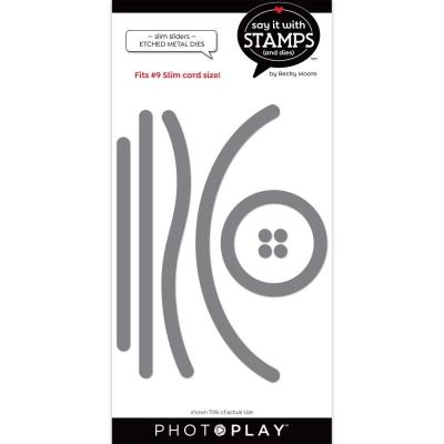 Slim Card Sliders, Stanzen - Photoplay