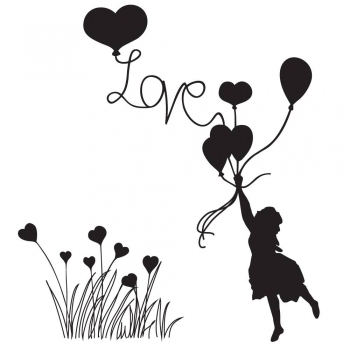 Love Is In The Air, Clearstamp - Claritystamp