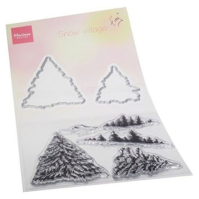 Tiny's Schneedorf, Stempel- und Stanzenset - Marianne Design