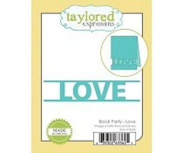 Block Party Love, Stanze - Taylored Expressions