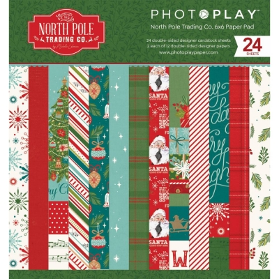 North Pole Trading Co. 6x6 Paperpad - Photoplay