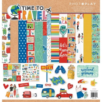 Time To Travel Collection 12x12 - Photoplay