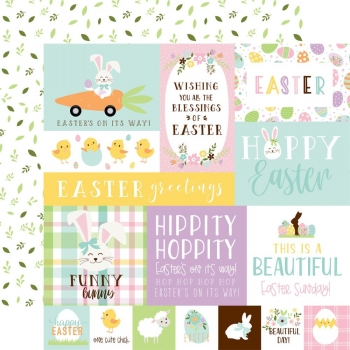 Welcome Easter, Multi Journaling Cards, Designpapier - Echo Park Paper