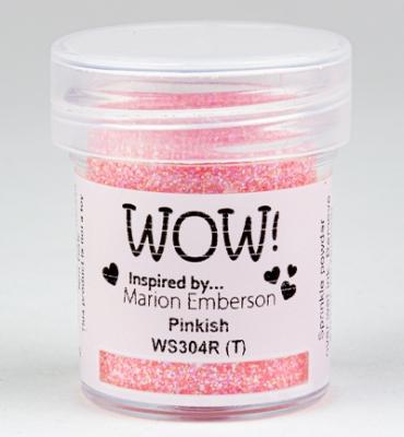 Embossing Glitters - Pinkish - WOW