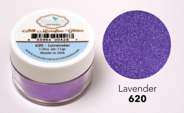 Silk Microfine Glitter, Lavender - Elizabeth Craft Designs