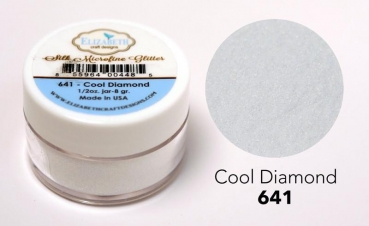 Silk Microfine Glitter, Cool Diamond - Elizabeth Craft Designs