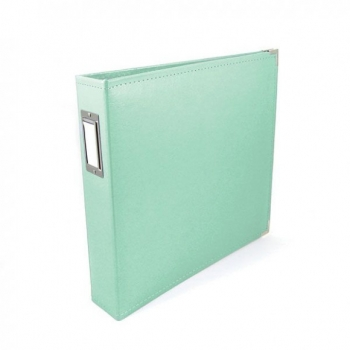 Faux Leather Album, Mint - We R Memory Keepers