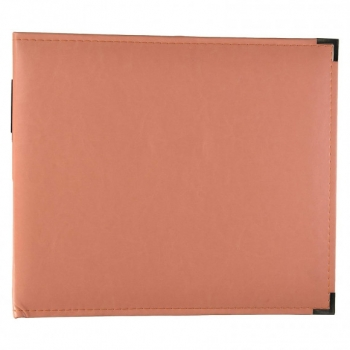 Faux Leather Album, Coral - We R Memory Keepers