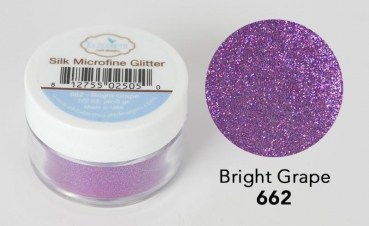 Silk Microfine Glitter, Bright Grape - Elizabeth Craft Designs