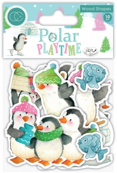 Polar Playtime, Wood Shapes - Craft Consortium