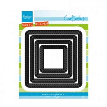Craftables Basic Stitch Quadrat, Stanze - Marianne Design