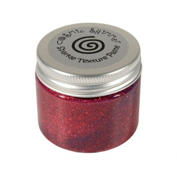 Sparkle Texture Paste, Apple Red - Cosmic Shimmer