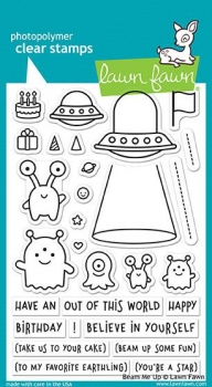 Beam Me Up, Stempel - Lawn Fawn