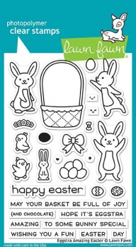Eggstra Amazing Easter, Stempel - Lawn Fawn