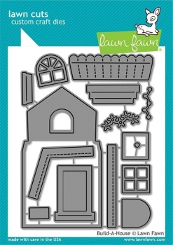 Build-A-House, Stanze - Lawn Fawn