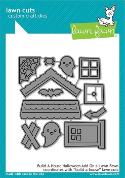 Build-A-House Halloween Add-On, Stanze - Lawn Fawn