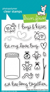 Bugs and Kisses, Stempel - Lawn Fawn