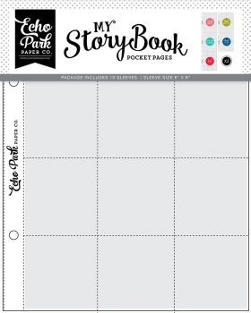 6x8 Pocket Page (Combo Pack) - Echo Park
