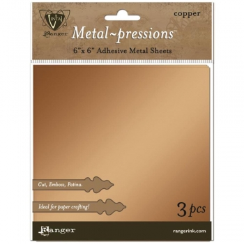 Adhesive Metal Sheets, Copper - Ranger