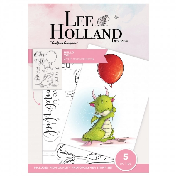 Lee Holland, Hello You, Clearstamp - Crafter's Companion