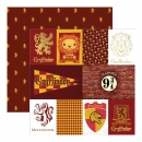 Harry Potter, Gryffindor, Designpapier - Paper House